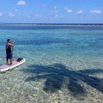 belize paddle boarding