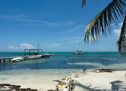 For Life The Way It Used To Be On Ambergris Caye, Head To Caye Caulker. I  Arrived In Caye Caulker By Water Taxi From San Pedro, As Many People Do.