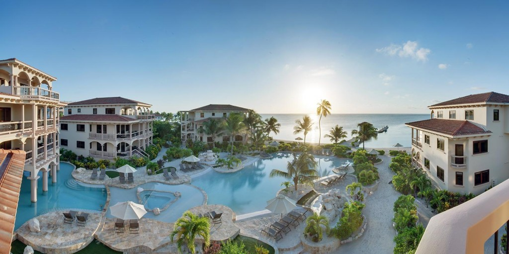 coco beach luxury resort in ambergris caye belize