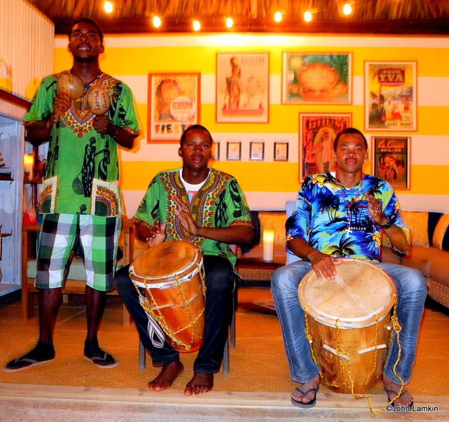 garifuna drummers hopkins belize