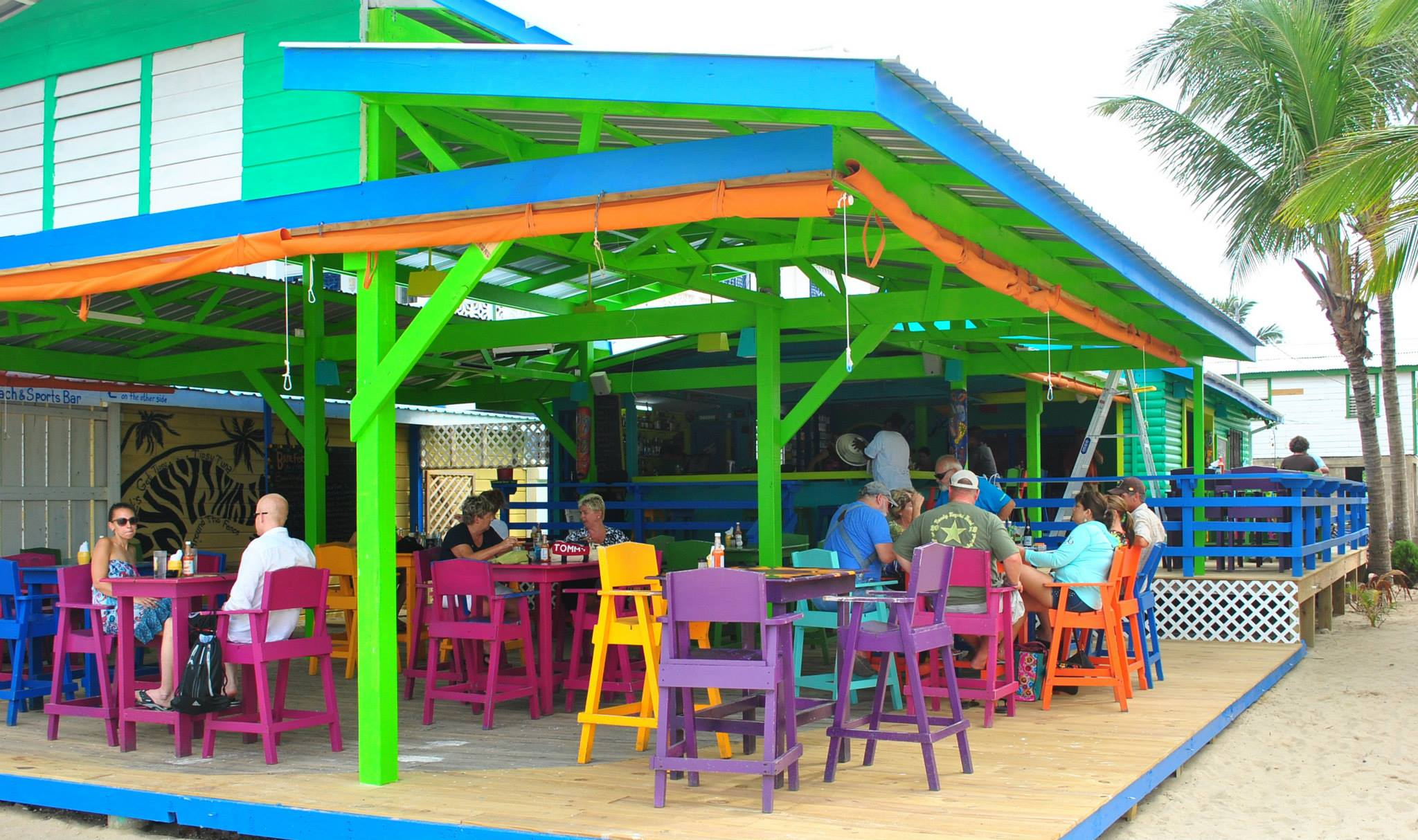 Barefoot Beach Bar In Placencia Belize