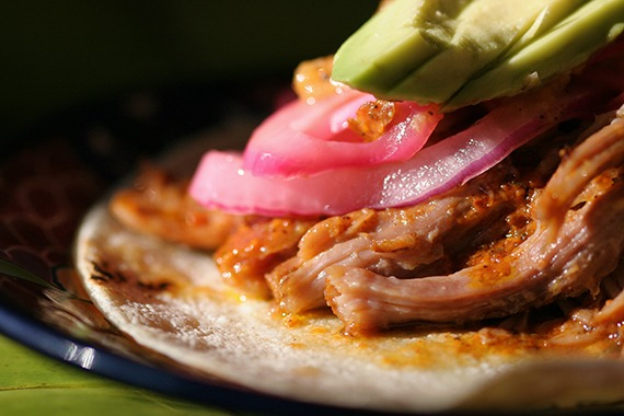 cochinita pibil belize food