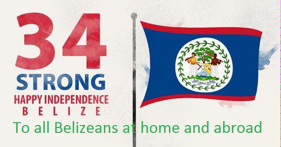 How Belize celebrated its Independence day?