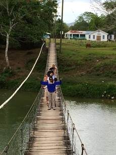 belize hammock bridge