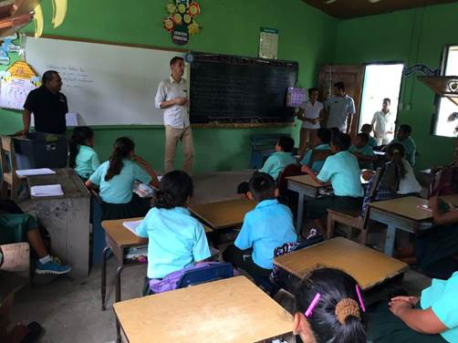 belize resort community outreach program
