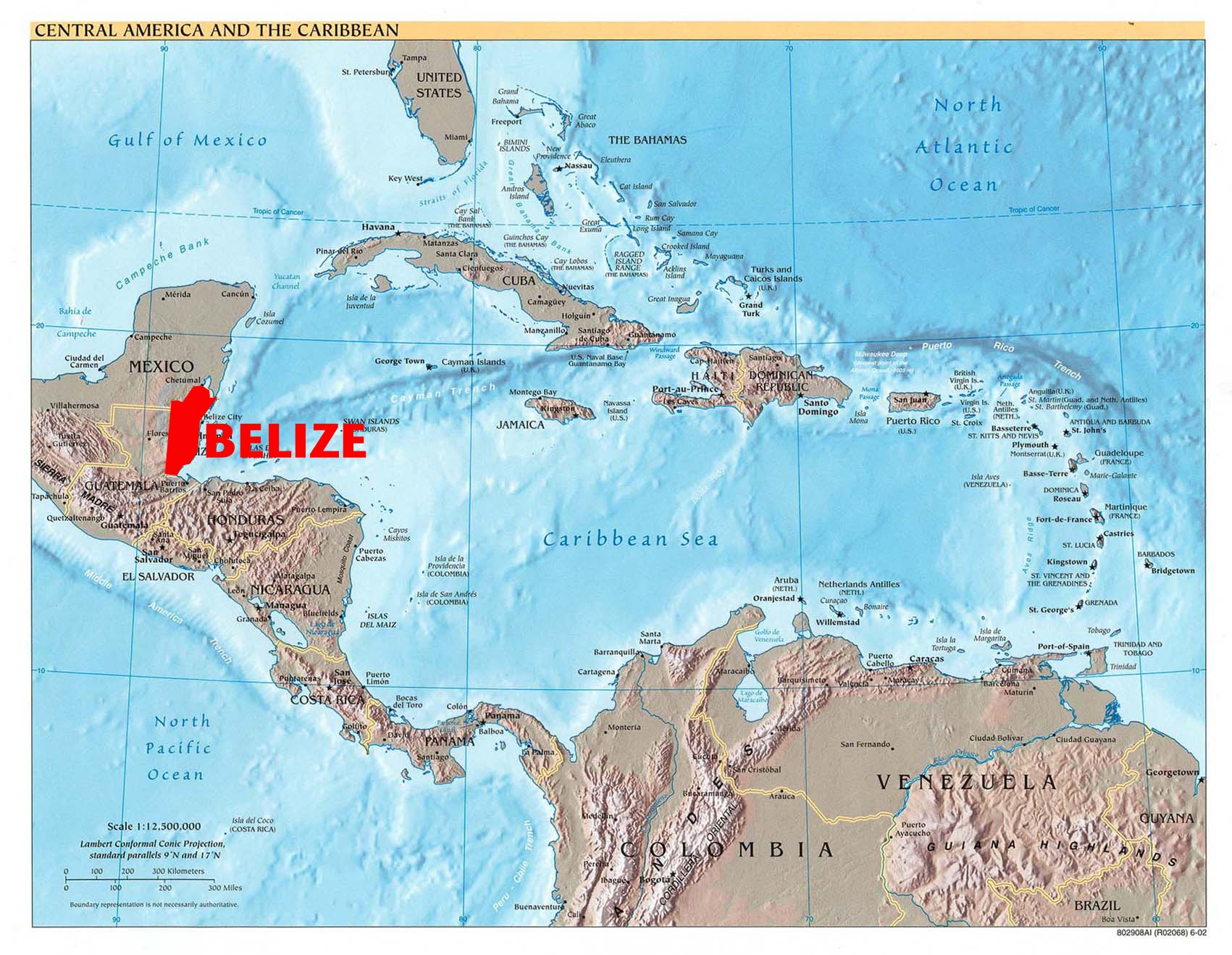 Are Caribbean Islands Part Of North America