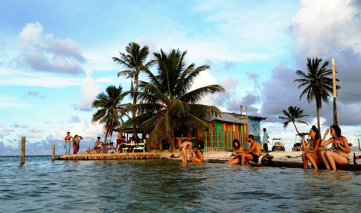 belize islands and cayes - caye caulker
