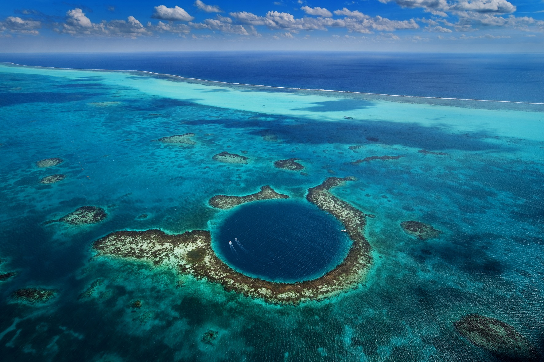 Image result for inside great blue hole