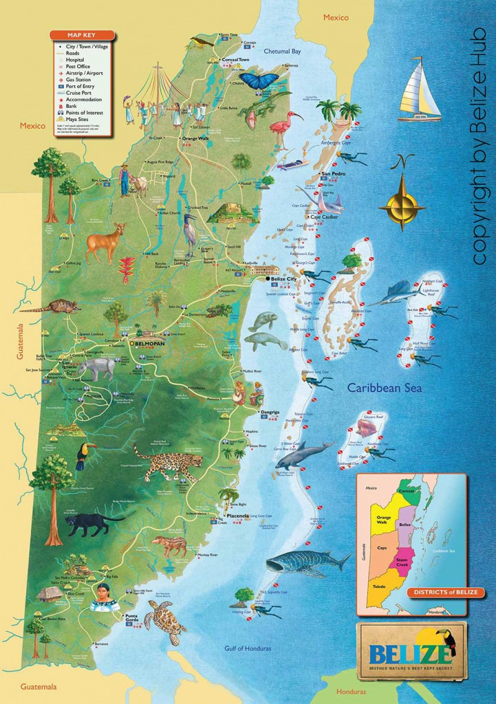 Where is Belize Located? Geography and Map Of Belize