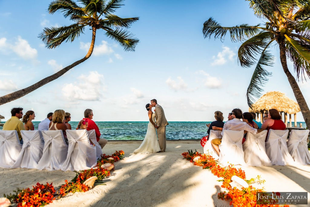 belize weddings in ambergris caye
