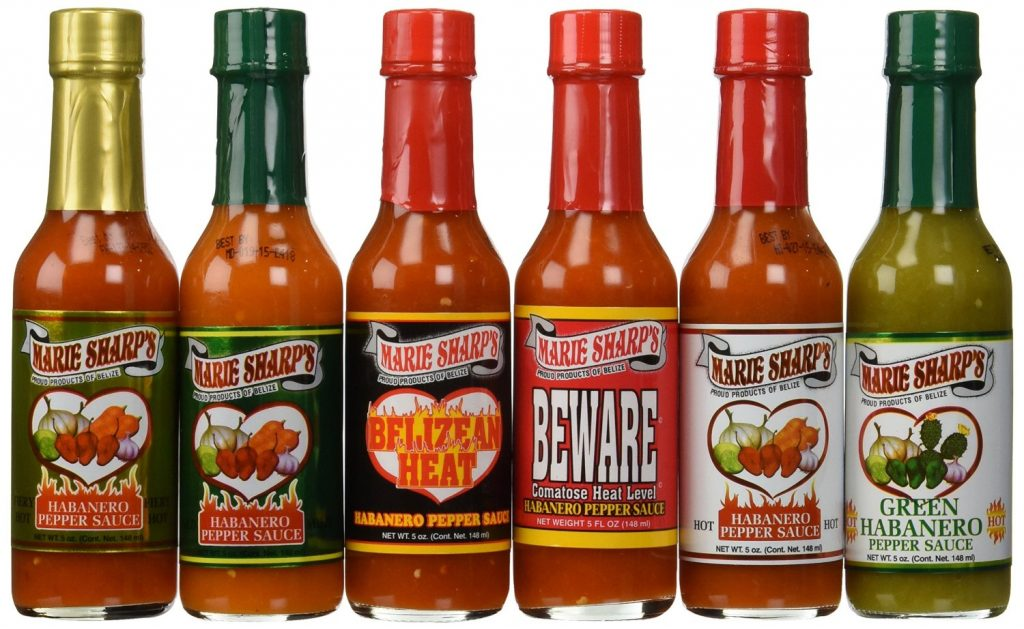 Marie Sharps Habanero Pepper Sauce Belize
