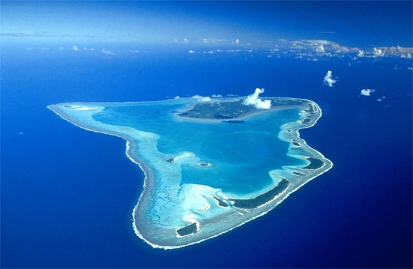 Glovers Reef Atoll in Belize