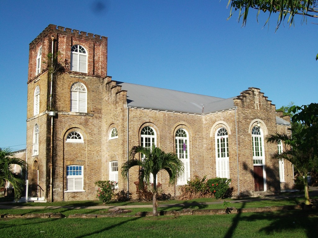 St. John's Cathedral in Belize