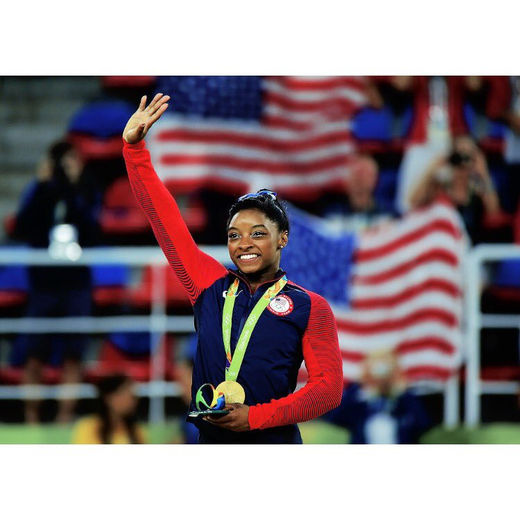 simone biles in belize