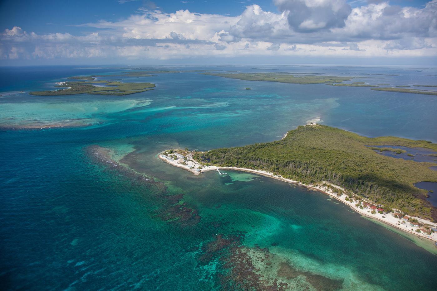 belize atolls - turneffe atolls