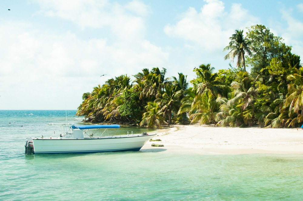 belize islands and cayes - ranguana caye