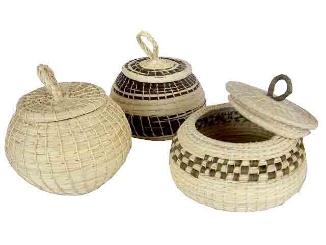 Belize Souvenirs - maya baskets