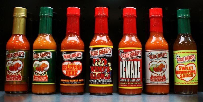 Belize Souvenirs - hot sauces