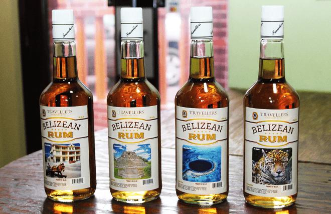 Belize Souvenirs - rum