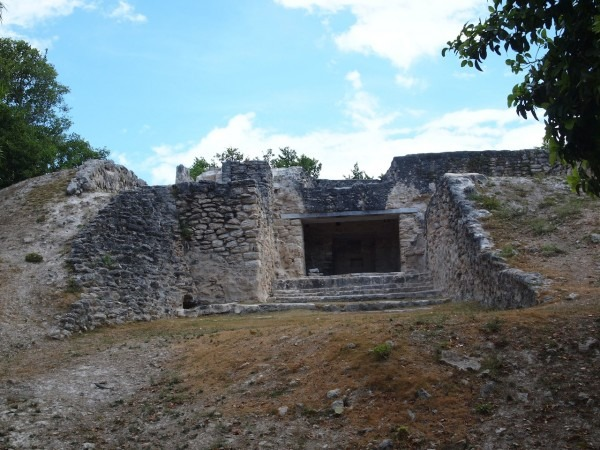 Santa Rita Maya Site in Corozal Belize