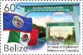 Stamps from Belize