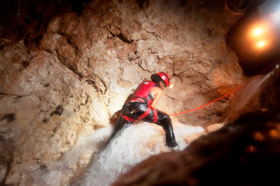 Belize WaterFall Cave Expedition