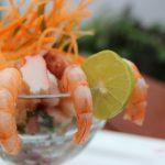 Belizean Conch and Shrimp Ceviche