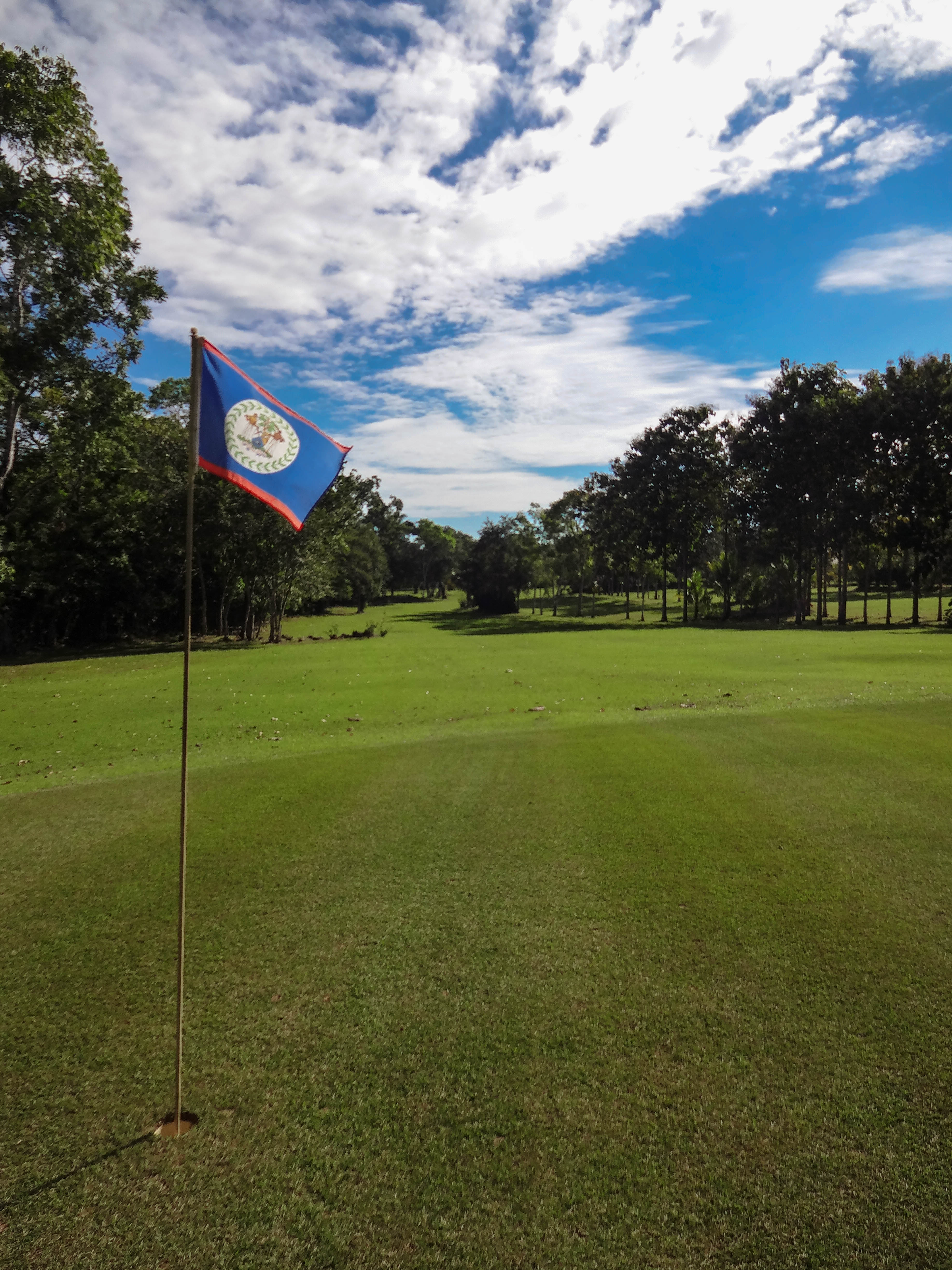 Golfing and Vacation in Belize