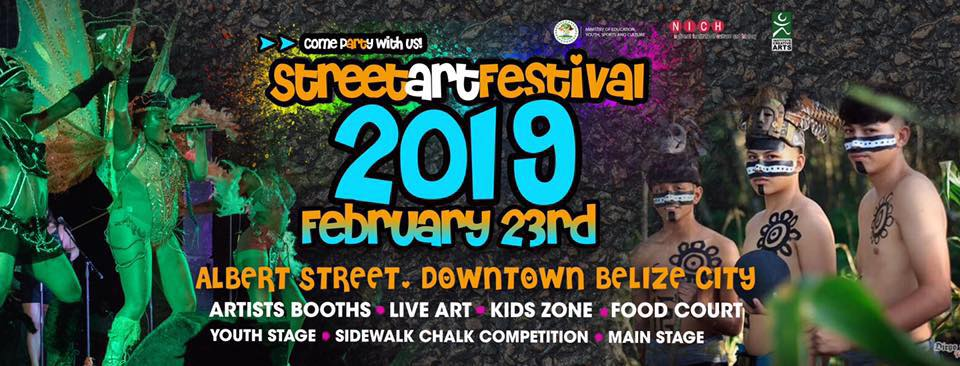 Belize City Street Art Festival