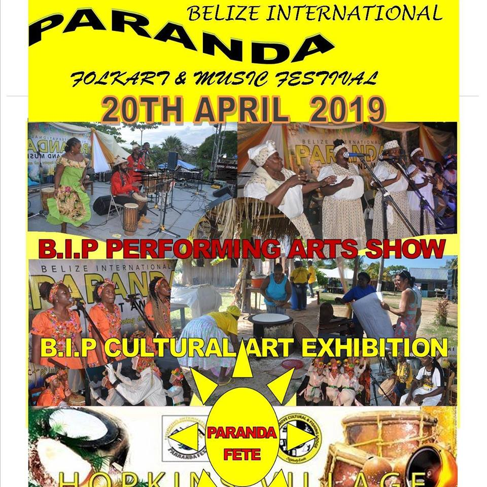 The 2019 Belize International Paranda FolkArt & Music Festival