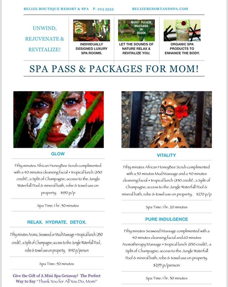 belize spa packages