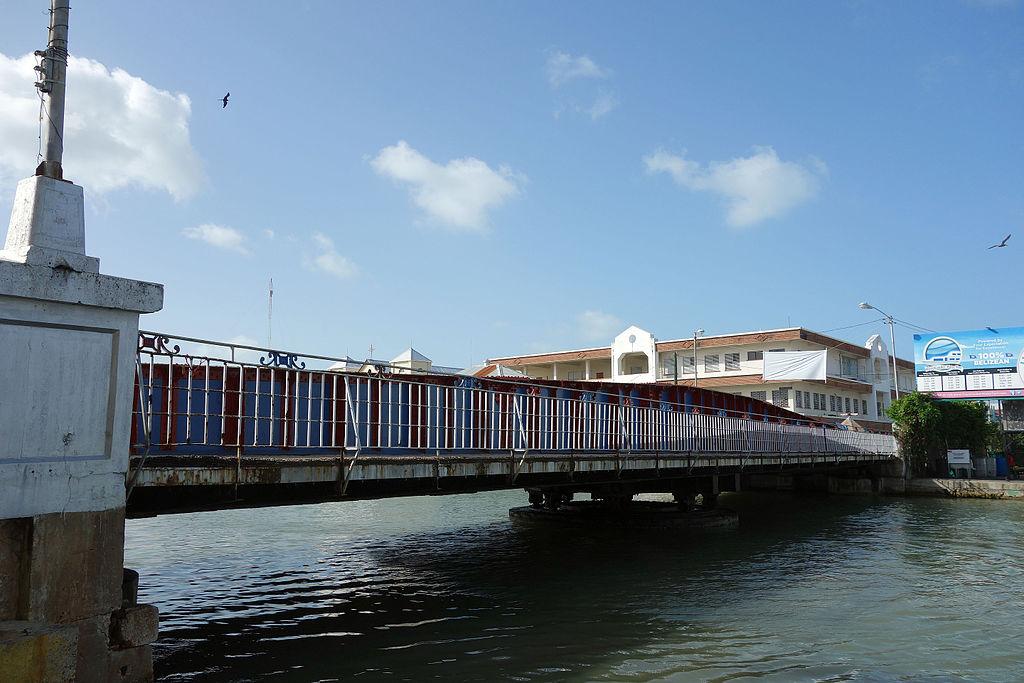 belize swing bridge