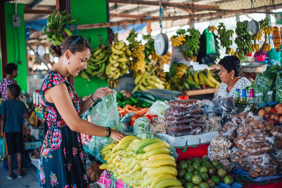 the san ignacio market in cayo belize