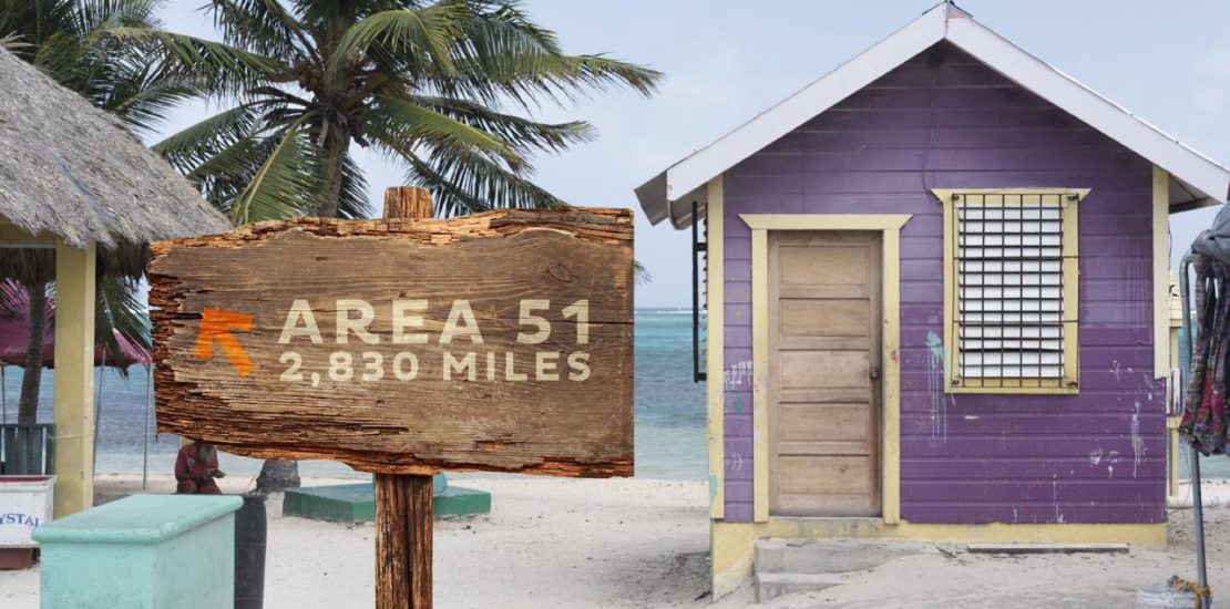 belize tourism board offers relaxing escape from storm area 51 event to residents of nevada