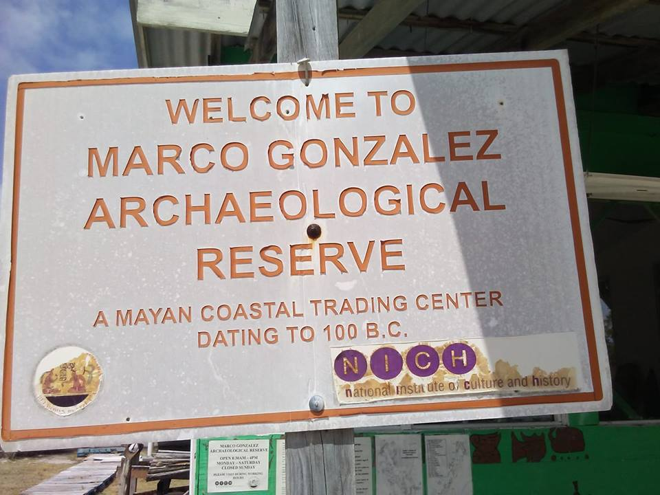 Marco Gonzalez Maya Site in Belize