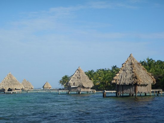 Overwater Bungalows in Belize #5