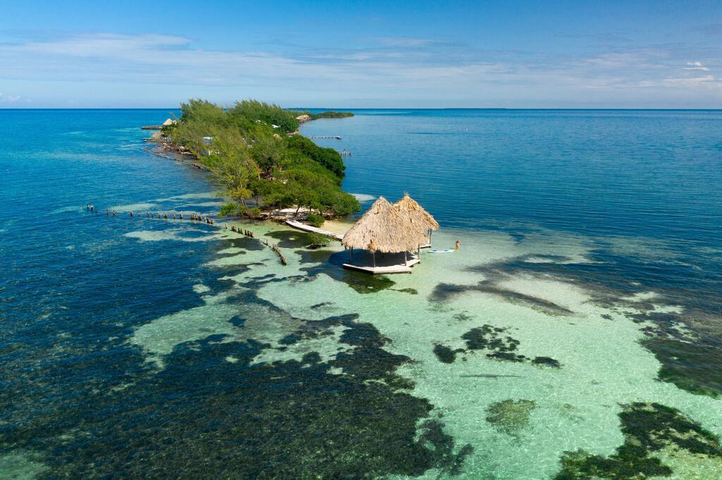 Overwater Luxury Bungalows in Belize