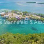 buy an island in belize