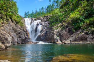 Big Rock Waterfalls